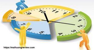 Kỹ xảo quản lý khiến thời gian tăng nhanh giá trị